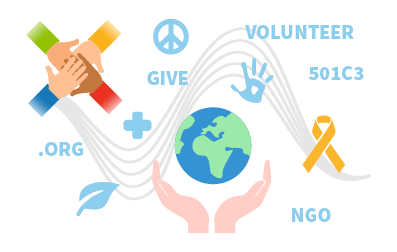 image of nonprofit iconography