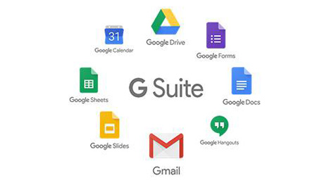 image of g suite components