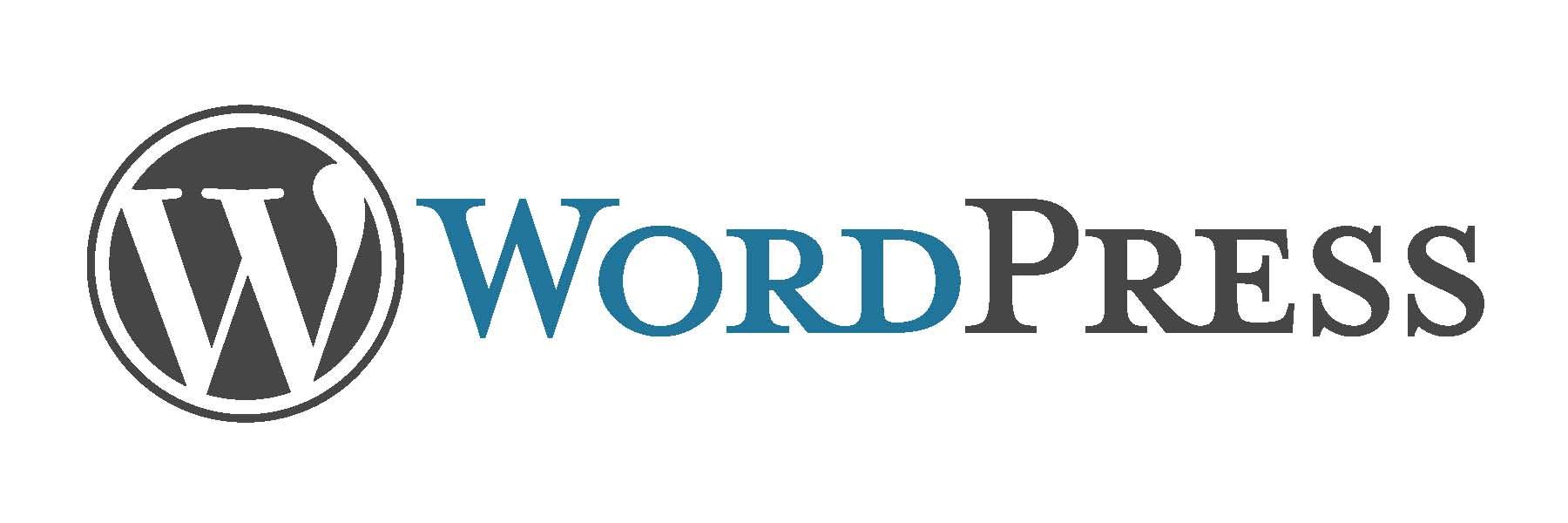 image of wordpress logo